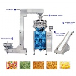 Combined Weighing and Packaging Machine with Z Conveyor