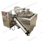 Semi-Automatic Electrical Heating Frying Machine