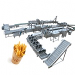 Full-Automatic Frozen Potato Chips Production Line